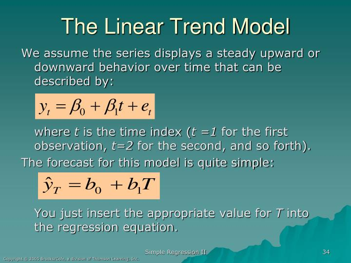 The Linear Trend Model