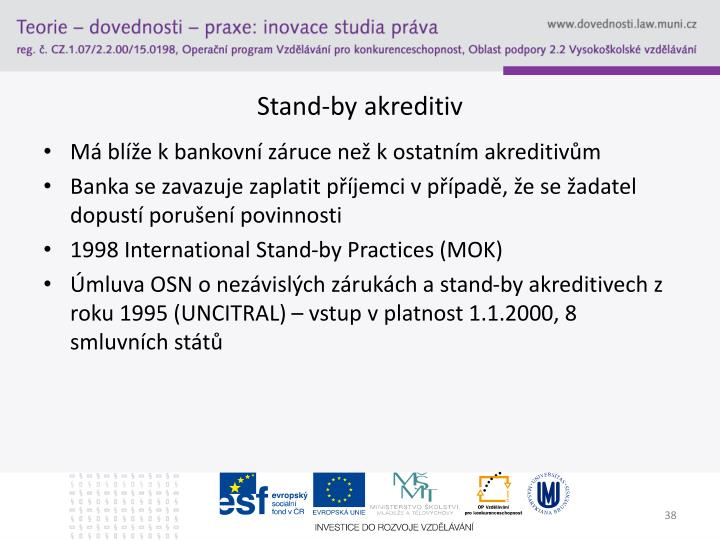 Stand-by akreditiv