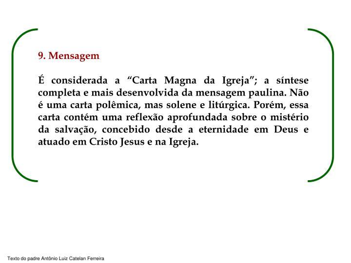 9. Mensagem