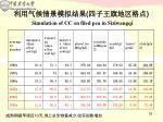 simulation of cc on filed pea in siziwangqi