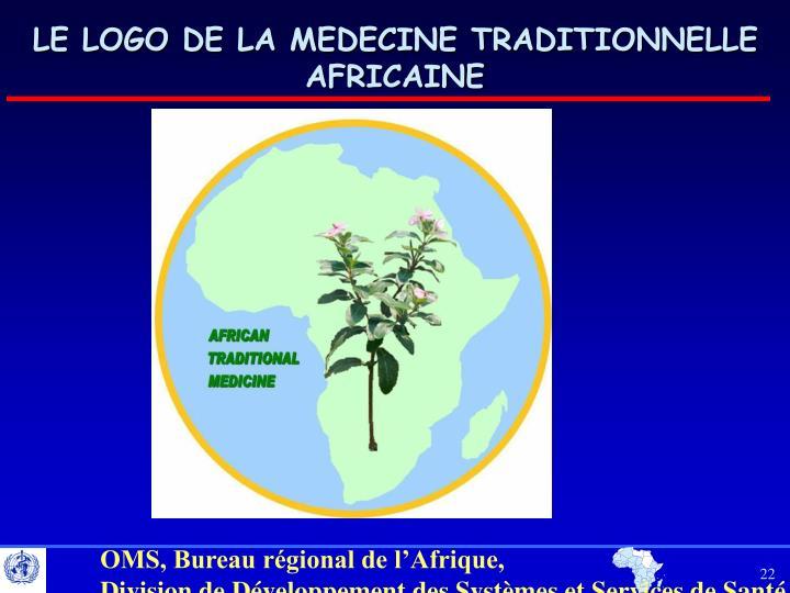 LE LOGO DE LA MEDECINE TRADITIONNELLE AFRICAINE