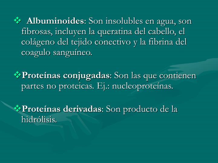 Albuminoides