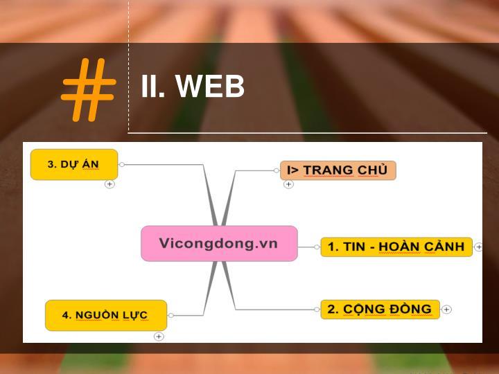 II. WEB