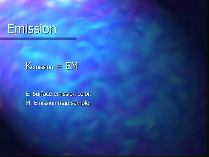 Emission
