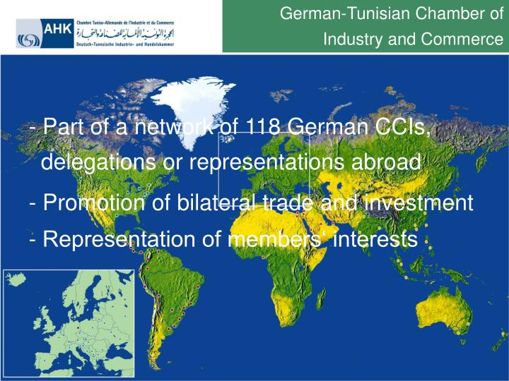 German-Tunisian Chamber of Industry and Commerce