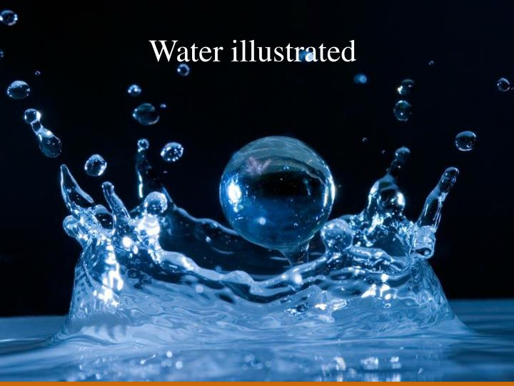 Water illustrated