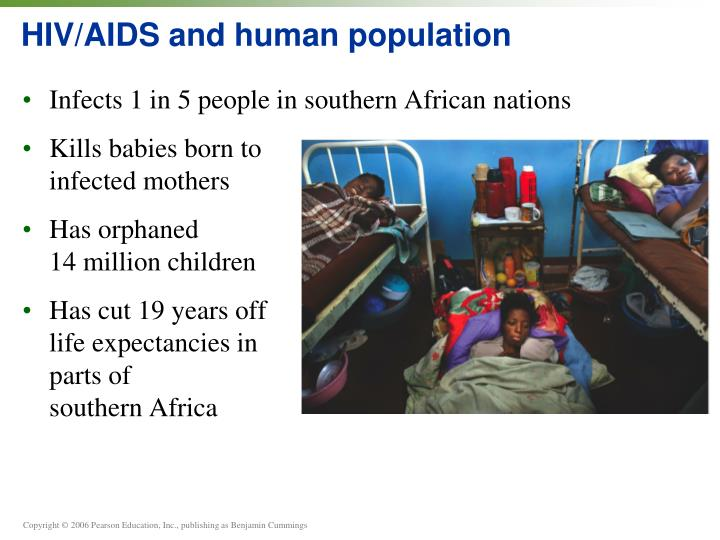 HIV/AIDS and human population