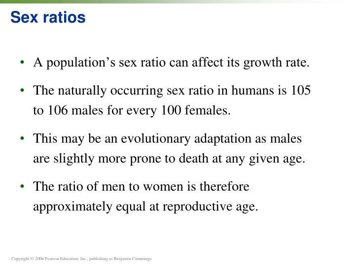 Sex ratios