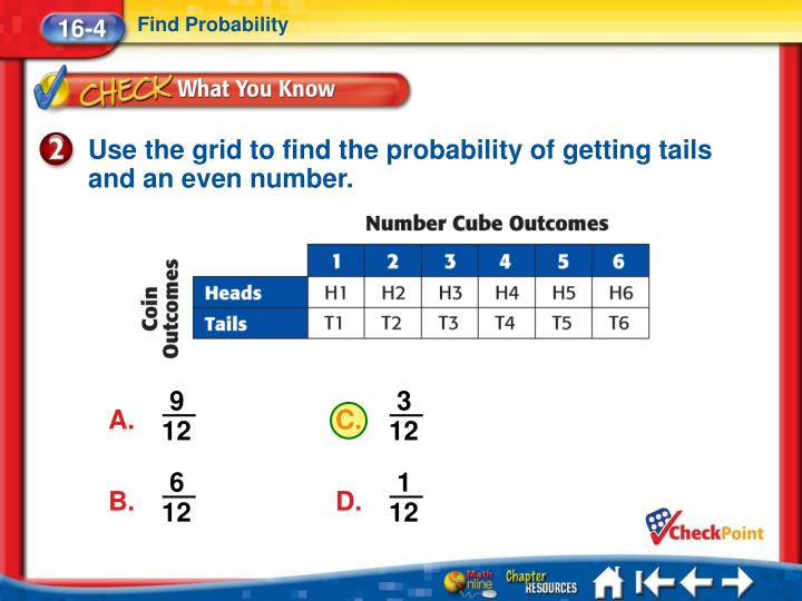 Find Probability