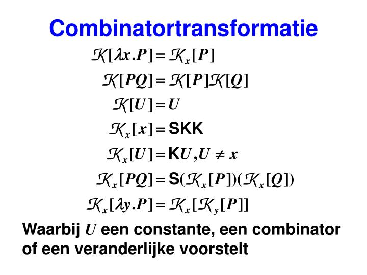Combinatortransformatie