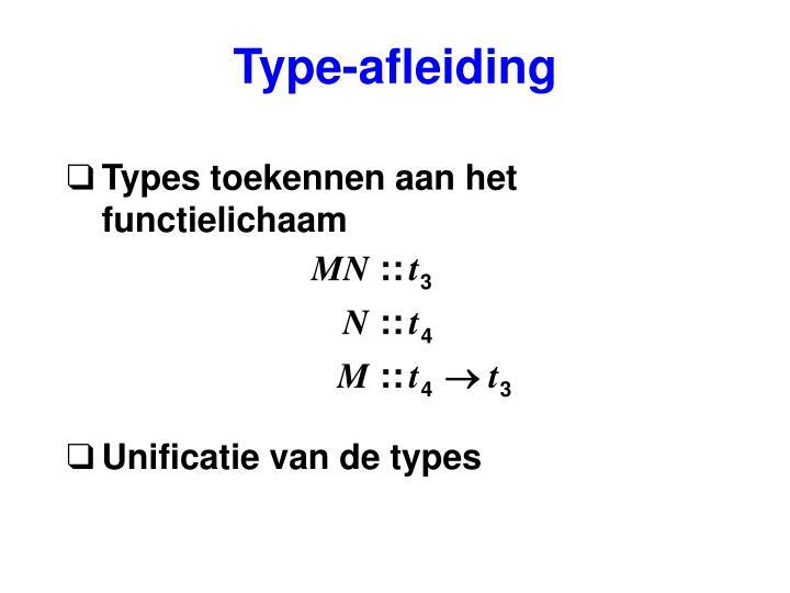 Type-afleiding
