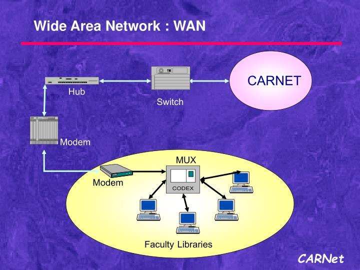 Wide Area Network : WAN