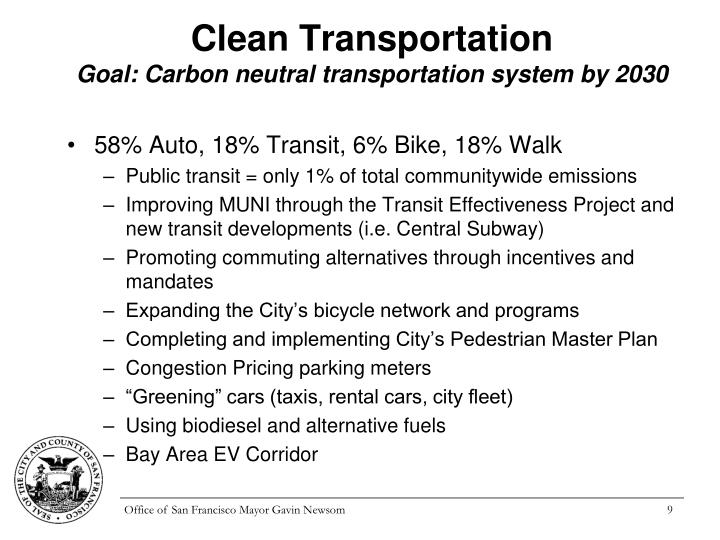 Clean Transportation