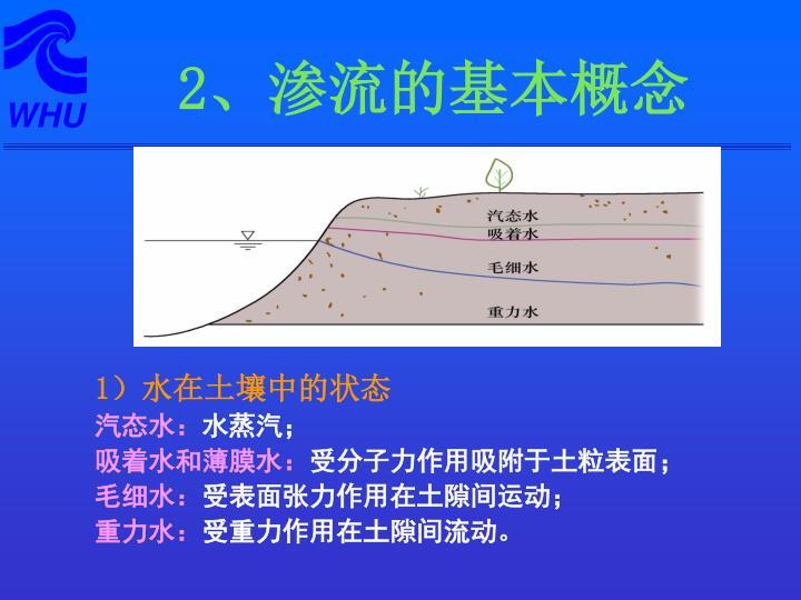 1)水在土壤中的状态