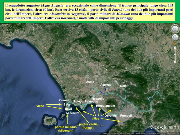 L'acquedotto augusteo (