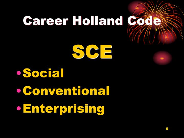 Career Holland Code