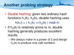 another probing strategy