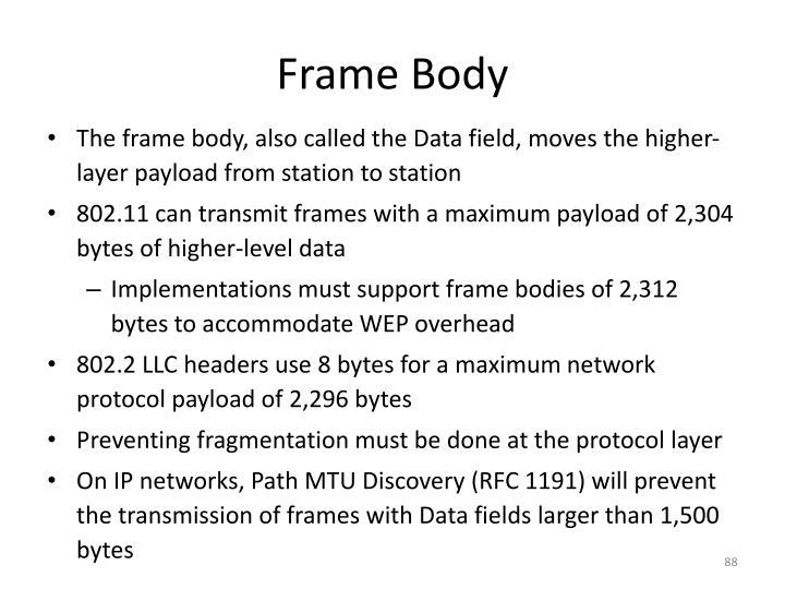 Frame Body
