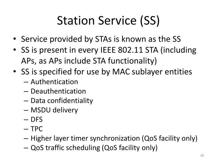 Station Service (SS)