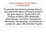 cefalosporine della prima generazione1