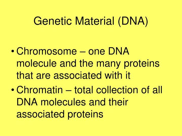 Genetic Material (DNA)