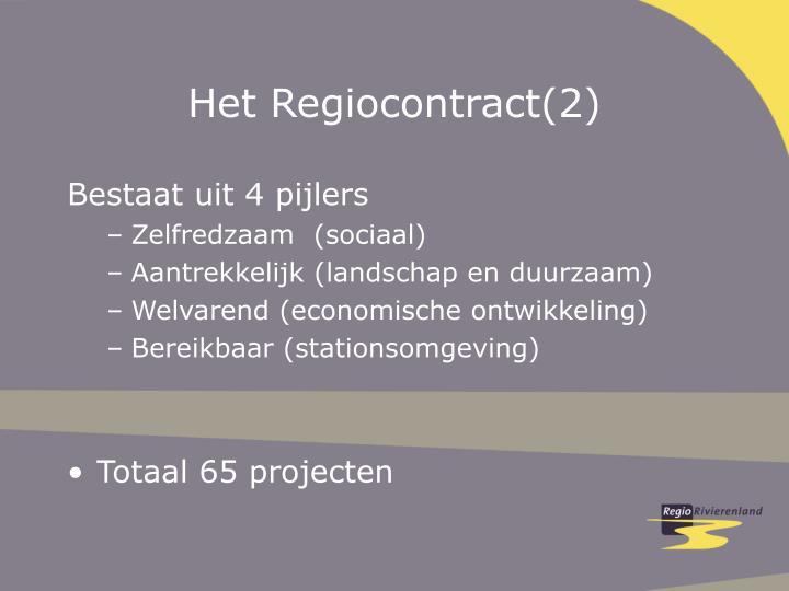 Het Regiocontract(2)