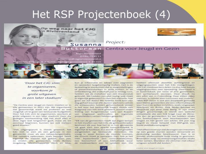 Het RSP Projectenboek (4)