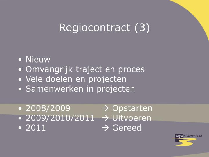 Regiocontract (3)