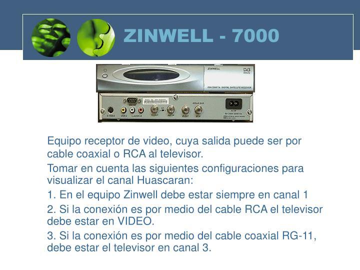 ZINWELL - 7000