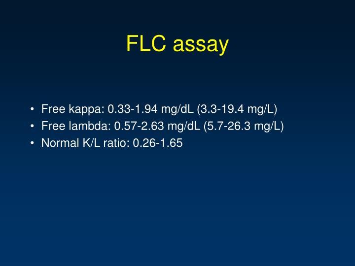 FLC assay