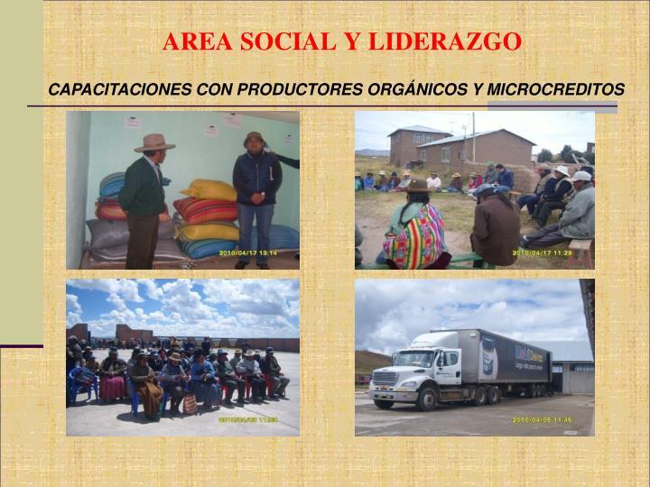 AREA SOCIAL Y LIDERAZGO