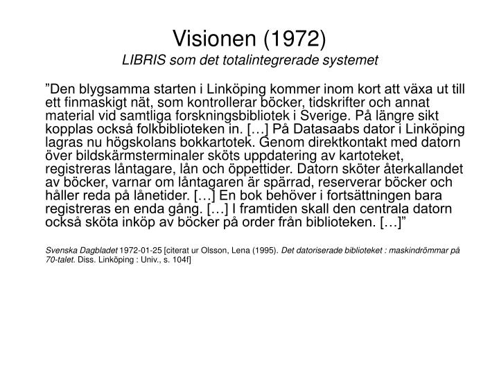 Visionen (1972)