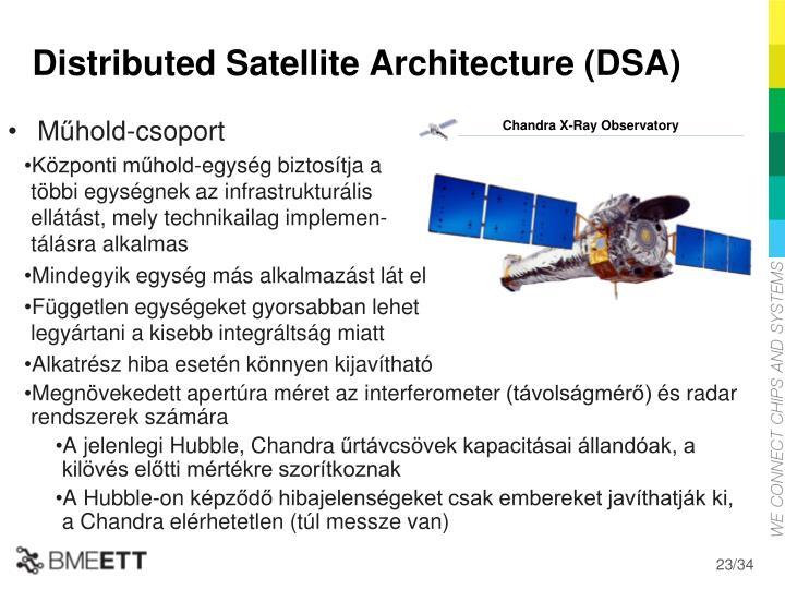 Distributed Satellite Architecture