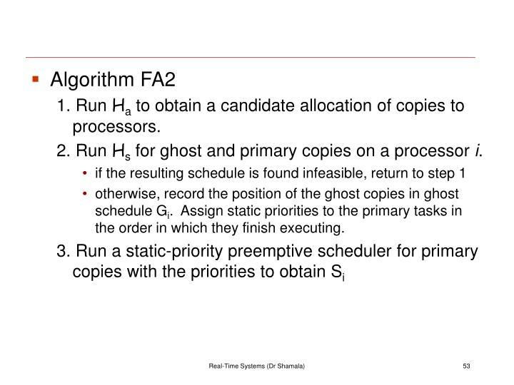 Algorithm FA2