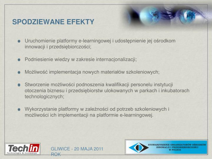 Uruchomienie platformy e-learningowej i udostępnienie jej