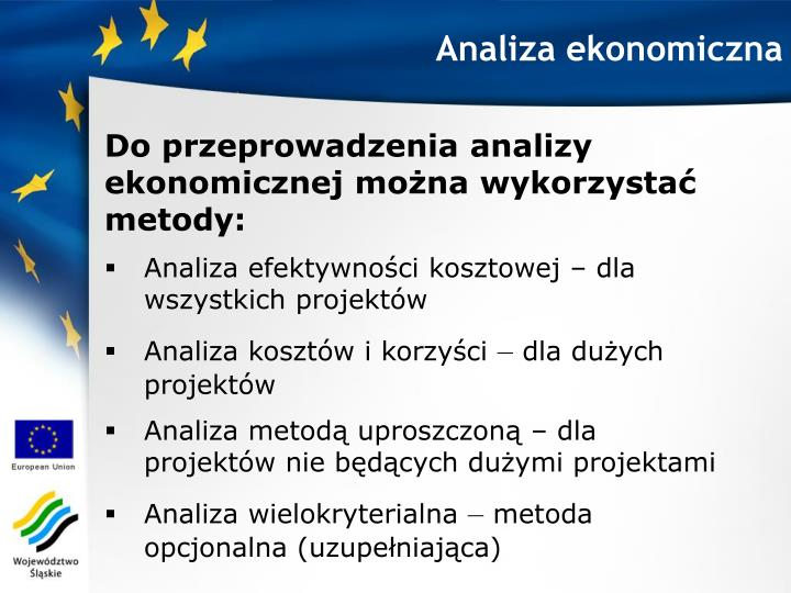 Analiza ekonomiczna