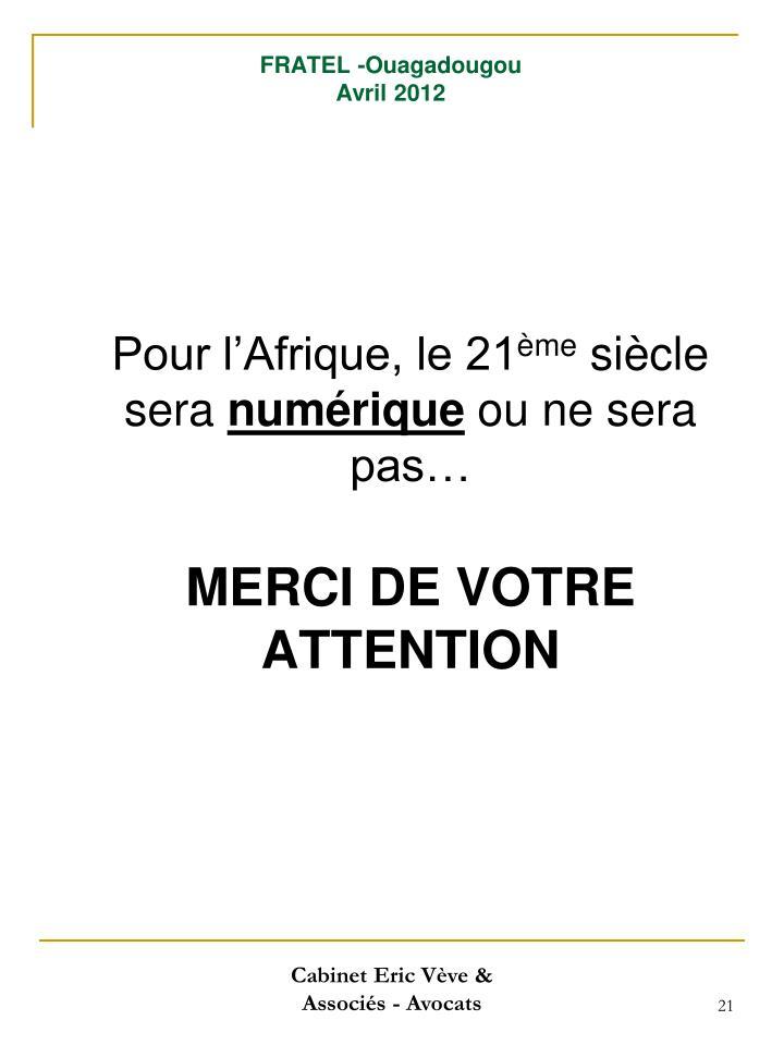 FRATEL -Ouagadougou