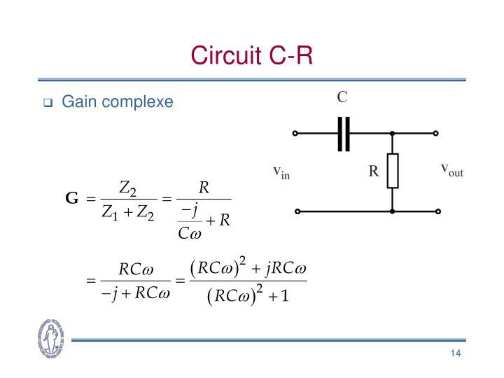 Circuit C-R