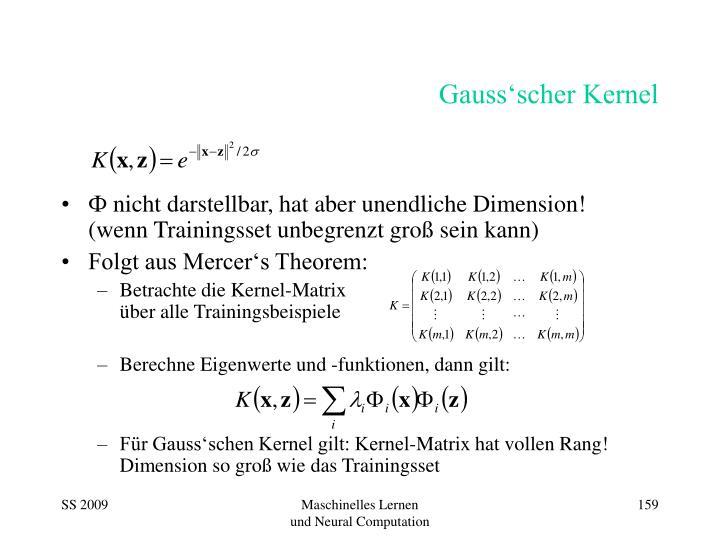 Gauss'scher Kernel