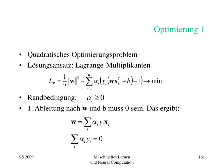 Optimierung 1