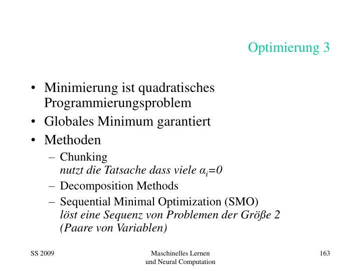 Optimierung 3