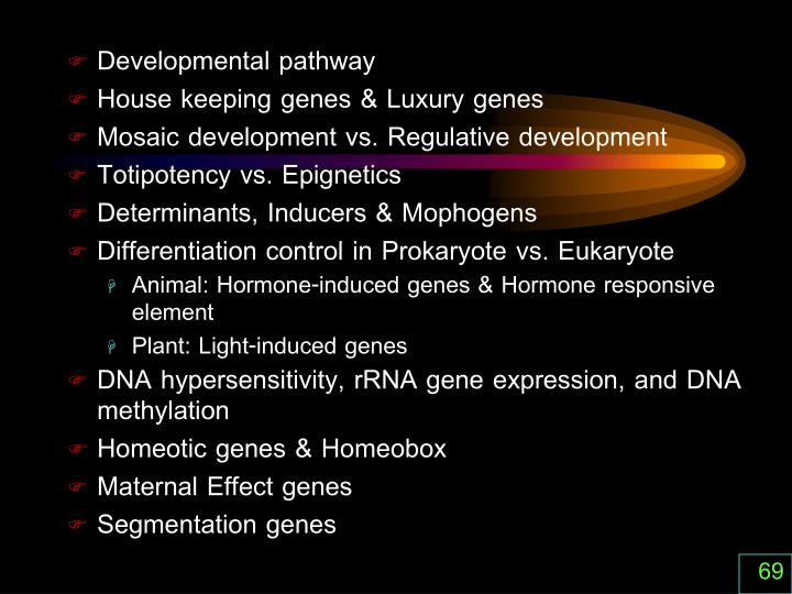 Developmental pathway