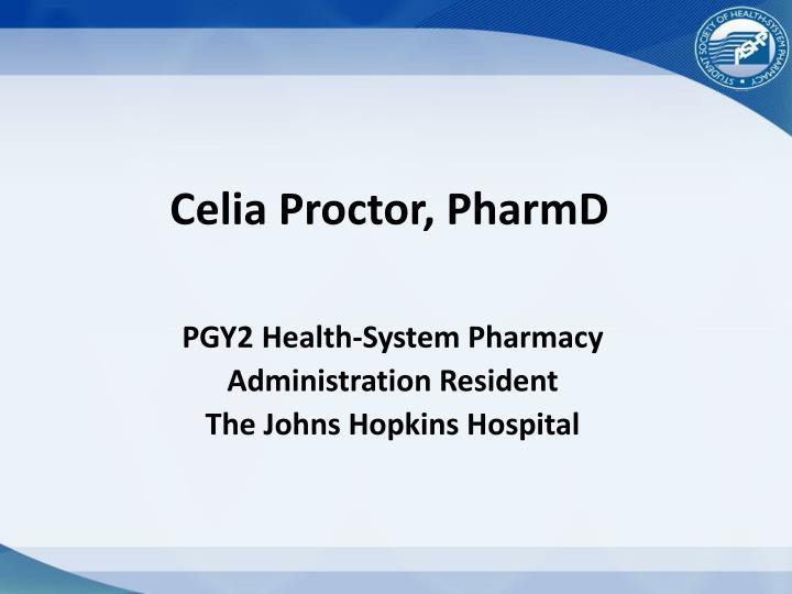 Celia Proctor,