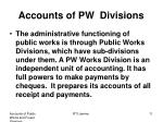 accounts of pw divisions2
