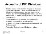 accounts of pw divisions4