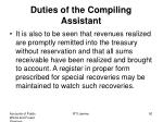 duties of the compiling assistant1