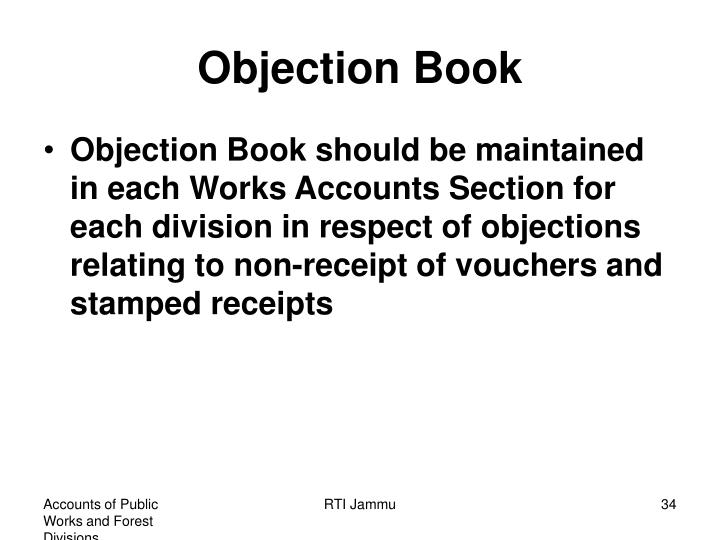 Objection Book
