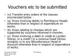 vouchers etc to be submitted2