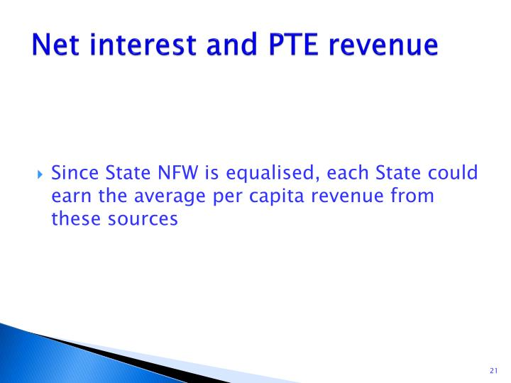 Net interest and