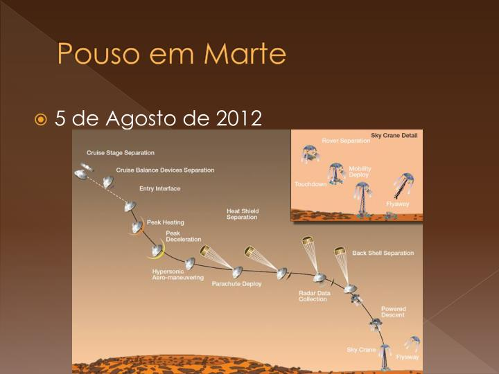 Pouso em Marte
